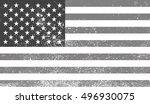 grunge flag of the united... | Shutterstock .eps vector #496930075