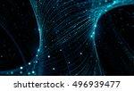 3d rendering background with... | Shutterstock . vector #496939477