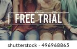 free trial demo offer special... | Shutterstock . vector #496968865