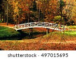 Autumn Landscape   White Woode...