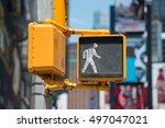 Pedestrian Traffic Walk Light...