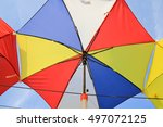 a close up view of colorful... | Shutterstock . vector #497072125