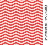 wave pattern. vector... | Shutterstock .eps vector #497076865