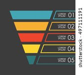 Funnel Infographics Template. ...