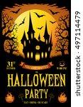 halloween. trick or treat....   Shutterstock .eps vector #497114479