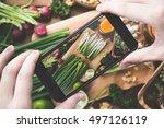 cooking image | Shutterstock . vector #497126119