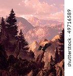 Bald Eagle In Sierra Nevada...