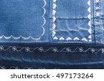 denim texture with different... | Shutterstock . vector #497173264