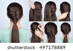 Simple Hairstyle Ponytail With...