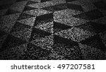 dark abstract background pixel...   Shutterstock . vector #497207581