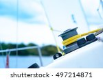 Boat Winch  Schoot  Staysail...