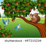 Vector Illustration Of Cute...