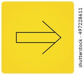 next arrow icon. forward sign....