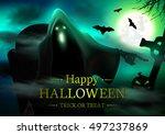 halloween. | Shutterstock .eps vector #497237869