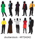 illustration of people | Shutterstock .eps vector #49724242
