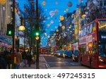 london  uk   december 30  2015  ... | Shutterstock . vector #497245315