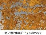 metal background | Shutterstock . vector #497259019