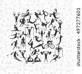 people symbols  representing...   Shutterstock .eps vector #497277601