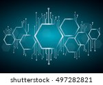 Abstract Bee Hive   Hexagon An...