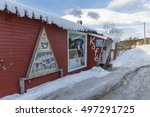svensby  norway   february 21 ... | Shutterstock . vector #497291725