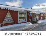 svensby  norway   february 21 ... | Shutterstock . vector #497291761