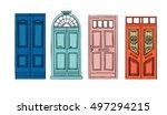 hand drawn vector illustrations ... | Shutterstock .eps vector #497294215