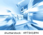 dental clinic interior with... | Shutterstock . vector #497341894
