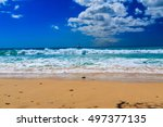 vacation background. amazing... | Shutterstock . vector #497377135