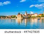 prague  czech republic   june... | Shutterstock . vector #497427835