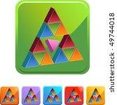 pink triangle | Shutterstock . vector #49744018
