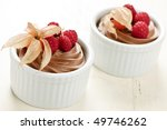 two servings of chocolate... | Shutterstock . vector #49746262