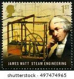 great britain   circa 2009  a...   Shutterstock . vector #497474965