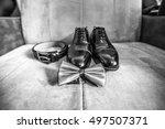 wedding  | Shutterstock . vector #497507371