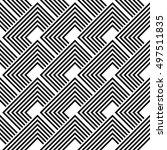 design seamless monochrome...   Shutterstock .eps vector #497511835