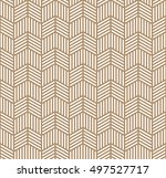 seamless geometric pattern of... | Shutterstock .eps vector #497527717