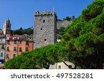 portovenere small town in... | Shutterstock . vector #497528281