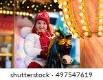 Happy Little Girl In Warm...