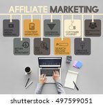 Small photo of Affiliate Marketing Advertising Commercial Concept