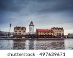 fishing village   ethnographic... | Shutterstock . vector #497639671