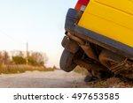 vologda  russia   october 12 ...   Shutterstock . vector #497653585