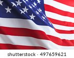 flag of the usa | Shutterstock . vector #497659621