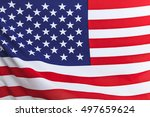 flag of the usa | Shutterstock . vector #497659624