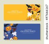 halloween illustration | Shutterstock .eps vector #497666167