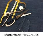 process in garment factory | Shutterstock . vector #497671315