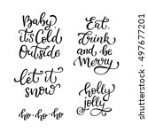 Set Of Hand Drawn Vector Quote...