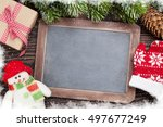 Christmas Chalkboard  Snowman ...