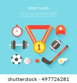 sports illustrated | Shutterstock .eps vector #497726281