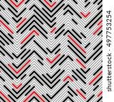 seamless zigzag pattern....   Shutterstock .eps vector #497753254