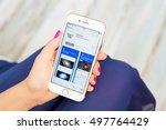 riga  latvia   september 8 ...   Shutterstock . vector #497764429