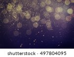 christmas  new year  holiday... | Shutterstock . vector #497804095